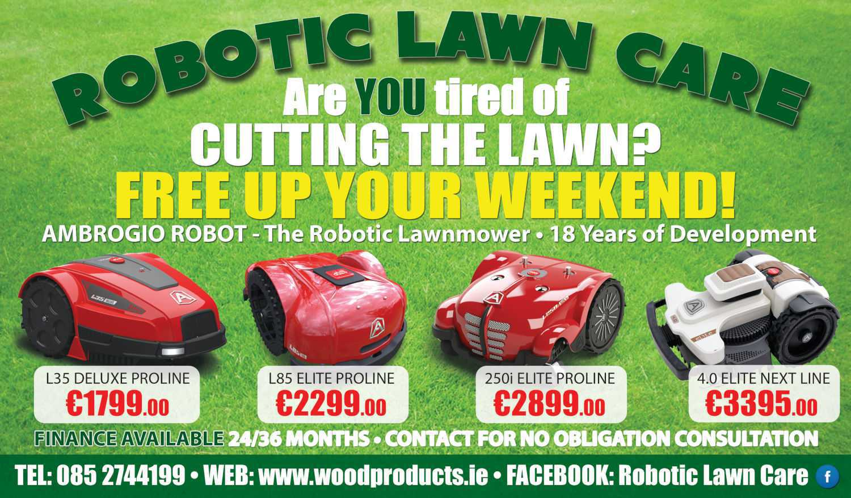 Robotic Lawnmowers