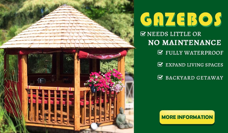 gazebos wood products